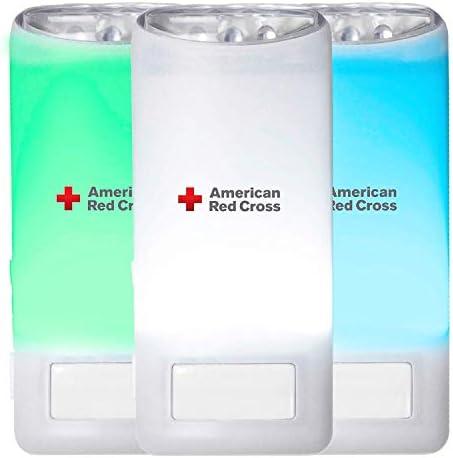 Eton American Red Cross Blackout Buddy Color Motion Activated Emergency LED Flashlight Blackout product image