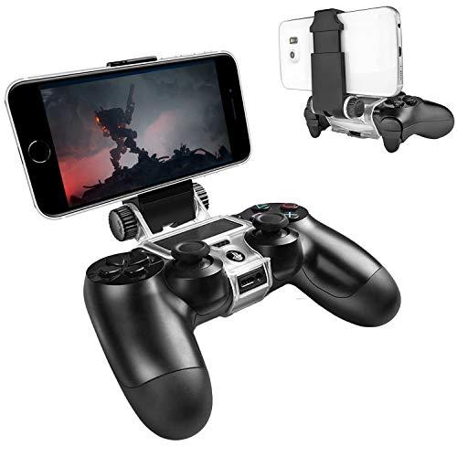 ADZ Smart-Clip für PS4 Slim und PS4 Pro Controller, Schwarz