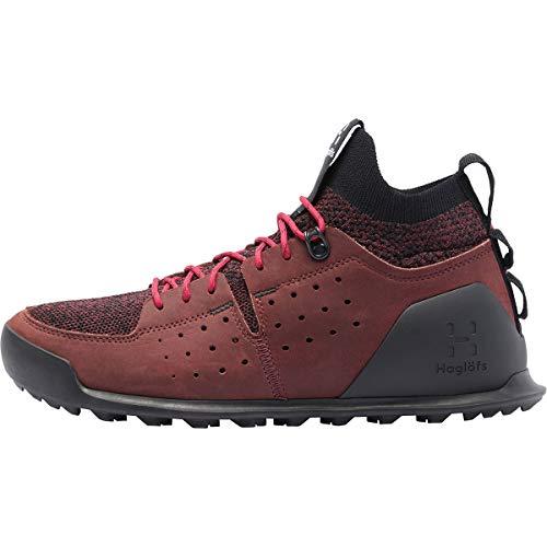 Haglöfs Duality AT2 - Zapatos para mujer, color rojo, talla 5