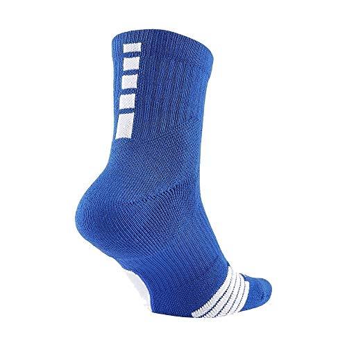 Nike Youth Elite Basketball Ankle Socks (Blue/White) Size S (3-5) 1 Pair