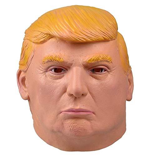 EVRYLON Donald Trump Maske für Karneval oder Halloween Unisex Modell Cosplay