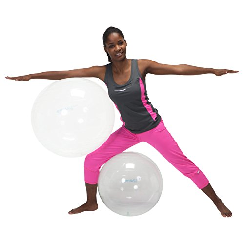 GYMNIC Opti Gymnastikball, Opti, durchsichtig