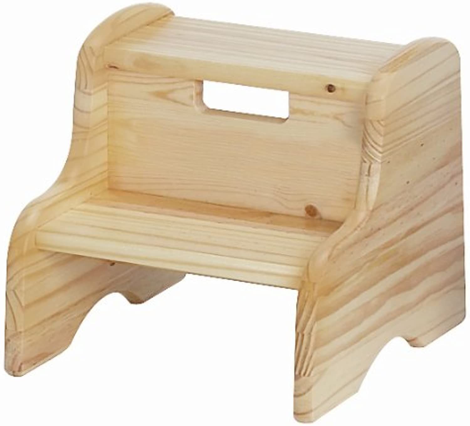 Little colorado 105WDUNF Unfinished Wooden Step Stool