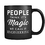 Divertente tazza di ingegneria, ingegnere ingegnere per ingegnere, ingegnere meccanico, ingegnere elettrico, 311,8 g