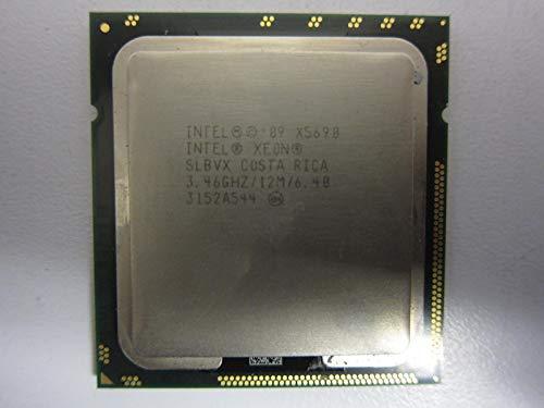 Intel Xeon X5690 - Procesador de seis núcleos (3,46 GHz, 6,4 GT/s, 12 MB, caché inteligente LGA-1366, 130 W, SLBVX