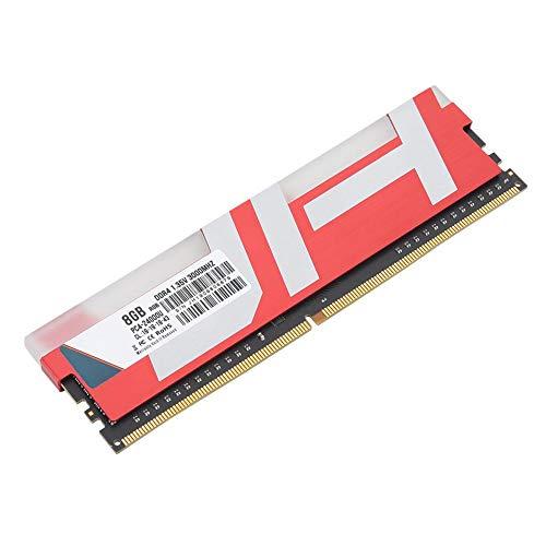 DDR4 pc-geheugen, 3000 MHz PC4-24000u 8G desktopgeheugenbank met lichtbalk, gemakkelijk compatibel met kantoorontwerp, games, winkelen