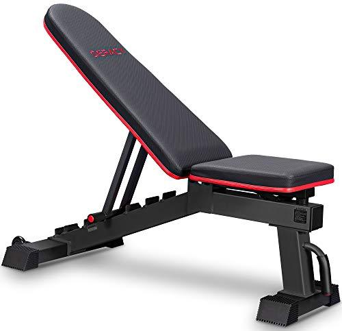 deracy adjustable weight bench