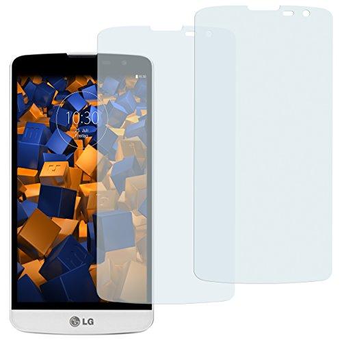 mumbi Schutzfolie kompatibel mit LG L Bello Folie klar, Bildschirmschutzfolie (2X)