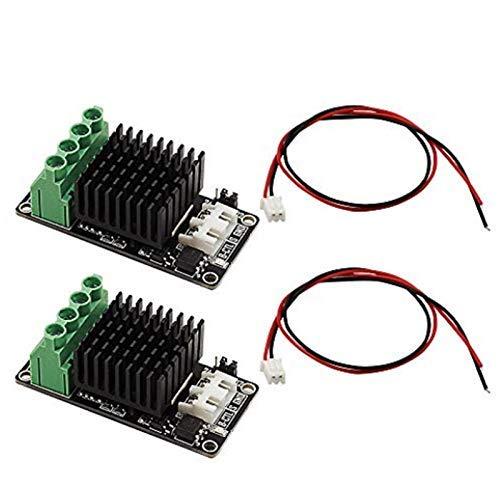 RONGW JKUNYU Impresora 3D Placa de expansión de potencia de cama caliente/módulo de alimentación de cama caliente/tubo MOS módulo de carga de alta corriente