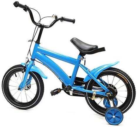 Kaibrite Children S Bicycle For Boys And Girls 14 Inch Children S Bike Blue With Additional Wheel Sport Freizeit