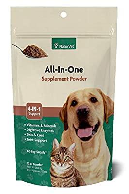 NaturVet All-in-One 4-IN-1 Support for Dogs, Soft Chews, Made in USA