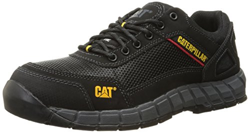 Caterpillar Men's Shift Comp Toe Work Oxford Steel Toe, Black, 11 M US