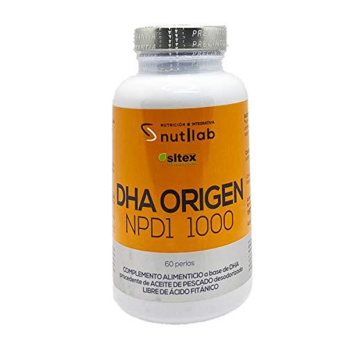 Nutilab Dha Origen Npd1 Omega 3 - 60 Cápsulas