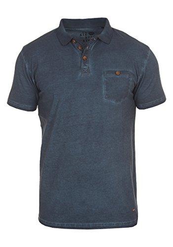!Solid Termann Herren Poloshirt Polohemd T-Shirt Shirt Mit Polokragen Aus 100% Baumwolle, Größe:L, Farbe:Insignia Blue (1991)