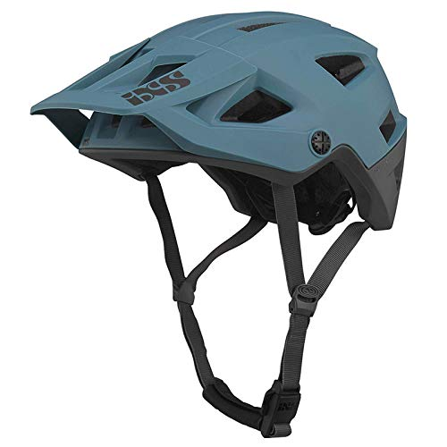 IXS Trigger Unisex AM Mountainbike-Helm, Blau (Ocean), SM (54-58cm)