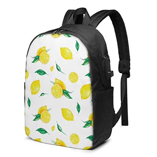 Reife gelbe Zitronen und Blätter Kordelzug Rucksack Rucksack Umhängetaschen Leichte Sporttasche zum Wandern Yoga Fitnessstudio Schwimmen Travel Beach 11,8 x 16,9 Zoll