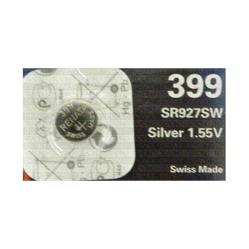 Renata 399 SR927W SB-BP Pile bouton pour montre Oxyde d'argent 1,55 V