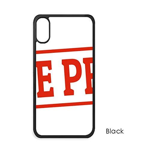 beatChong Red Chinesisch Artikel Seal Rot Muster für iPhone X-Hüllen phonecase Apple-Abdeckungs-Hüllen-Geschenk Rot