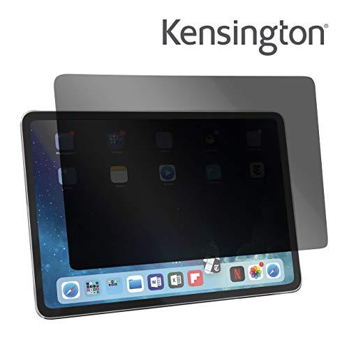 Kensington iPad Pro 11-inch (2018) privacyfilter, dubbele filter, ideaal voor de bescherming van gevoelige gegevens op de iPad Pro 11 inch, blauwe lichtvermindering en reflectiebescherming, 626781