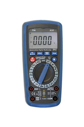 in budget affordable Handheld Car Multimeter PDIDM-930, Blue