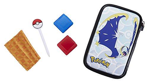 Official Essential Pokémon Pack Nintendo New 3DS XL / 3DS XL - 4 motifs Pokémon Soleil et Lune au choix - Protège 3DS et Jeux - Motif Lunala