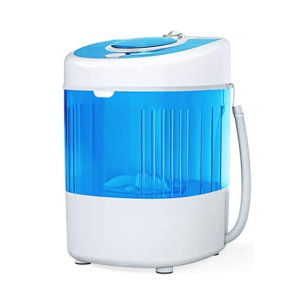 KUPPET 7.7lbs Mini Portable Washing Machine for Compact Laundry
