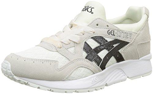 ASICS Gel-Lyte V, Sneaker Donna, Grigio (Cream/Black 0090), 38 EU