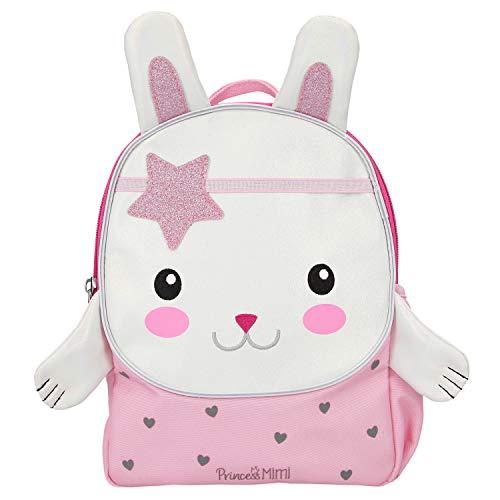Depesche 11244 - Mochila con forma de conejo, Princess Mimi, rosa, aprox. 10 x 21 x 26 cm