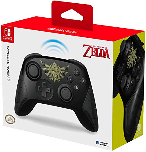 HORI Nintendo Switch Wireless HORIPAD Zelda Edition Rechargeable Controller - Nintendo Switch