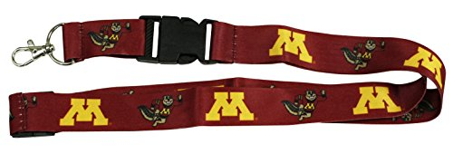aminco Minnesota Gophers Lanyard-Minnesota Gophers Keychain LANYARD-36 Long-
