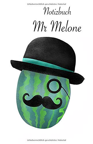 Notizbuch Mr Melone