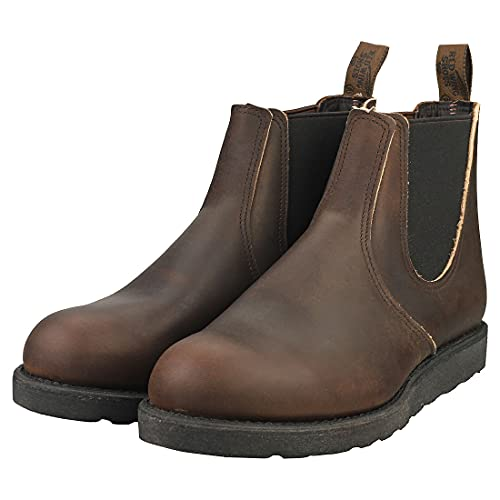 Red Wing Mens Classic Chelsea Leather Ebony Boots 10.5 US