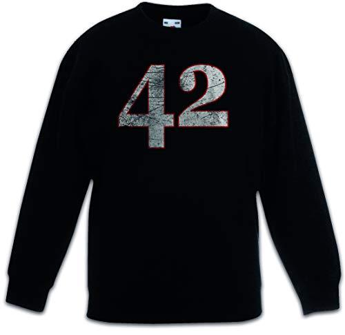 Urban Backwoods 42 Kinderen Jongens Meisjes Sweatshirt Pullover Trui Schwarz