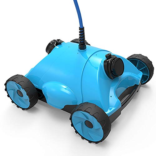 Best Review Of WSJTT Robotic Pool Cleaner with Exceptional Cleaning Power, Ideal for In-ground Swimm...