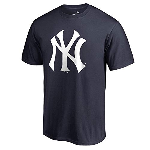 Outerstuff MLB Youth 8–20 Team Color Cool Base Polyester Performance Primary Logo T-Shirt, Jungen, New York Yankees, 8