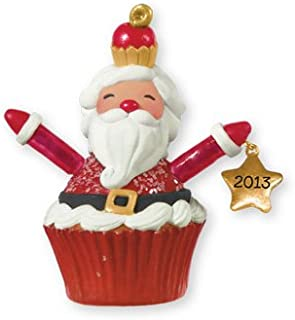 Santa Cupcake 2013 Hallmark Ornament