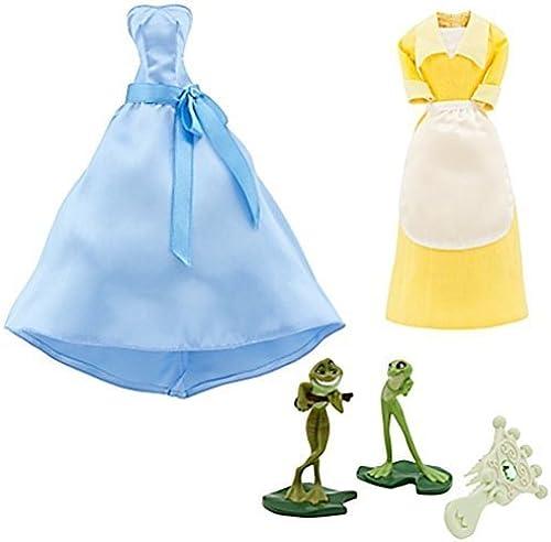 calidad garantizada Disney Princess Tiana Doll Doll Doll Wardrobe and Friends Set -- 5-Pc. by Disney  a precios asequibles
