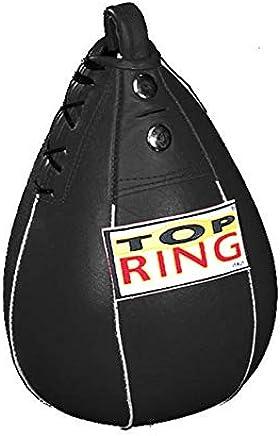Not defined Pera Veloce Top Ring aus echtem Leder Schwarz B07JX5NJFT       Moderner Modus