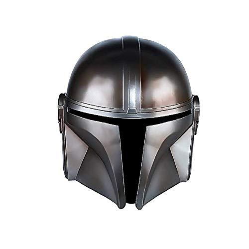 Luminous1128 Il casco Mandalorian, Boba Fett Deluxe per adulti e casco per adolescenti per Halloween Prop Cosplay Prop