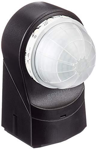 Esy -Lux EM10015519 -RC230i 602626 Luminaires Extérieur Détecteur de Mouvement IP54 Noir