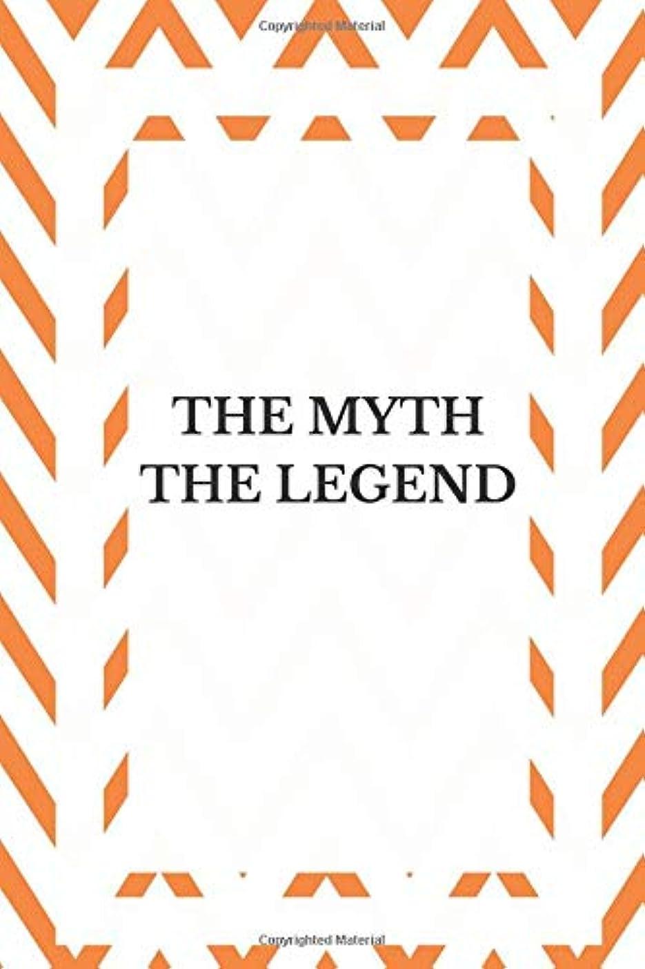 ロータリー浴室スコットランド人The Myth The Legend: Funny Gift Journal Lined Notebook To Write In For Women And Men