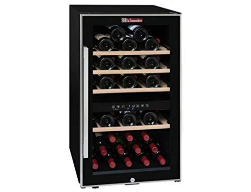 LA SOMMELIER Vinoteca para 49 Botellas. 2 Temperaturas, Multicolor, Talla única
