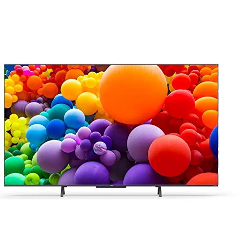 TCL 65C722, 4K/UHD, QLED, Smart TV, 164 cm [65 Zoll] - Silber