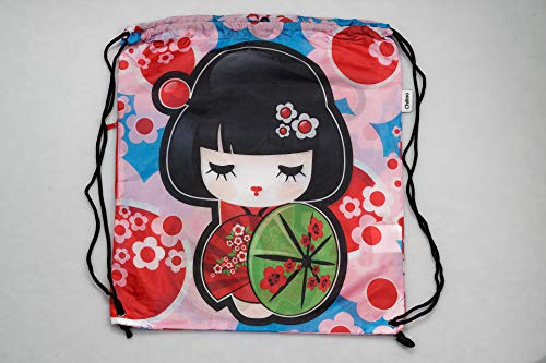 Chilino Rucksack Manga / Zusammenfaltbarer Rucksack mit Umtasche / Umweltfreundlich / 43 x 39 cm