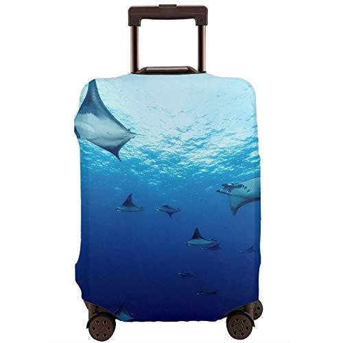 Cubierta de equipaje de viaje Ocean Deep Sea Moblare Maleta Protector lavable Cubiertas de equipaje