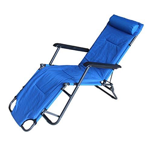 Vouwstoel Recliner Multifunctionele Lunch Break Office Nap Bed Stoel Rest Bed Draagbare Bed Slaapbank Thuis Vet Gecapitonneerde Lounge Stoel