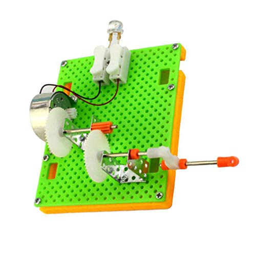 Toyvian Mini Generator Motor Modell Elektromotor für Kinder Jungen Studenten Wissenschaft Experimente Pädagogisches Spielzeug Handwerk Material