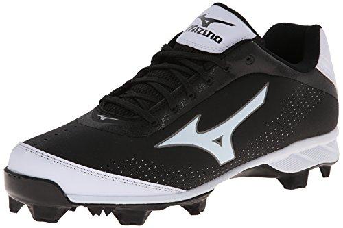 Mizuno Herren Advanced Blaze Elite 5 Low Baseball Cleat, Schwarz (schwarz/weiß), 38.5 EU