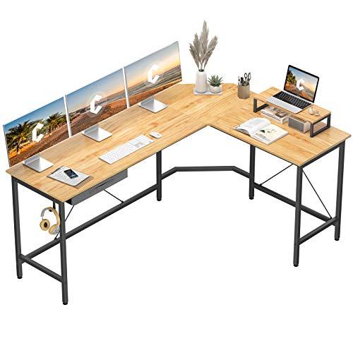 CubiCubi L Shaped Art Desk