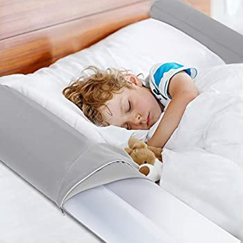 2-Pack Viewstar Inflatable Kids Toddler Bed Rails Bumper